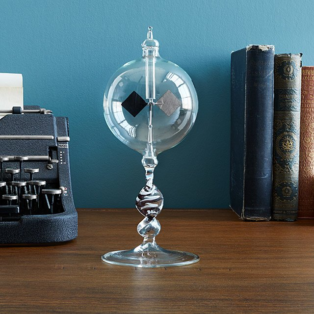 blown glass radiometer