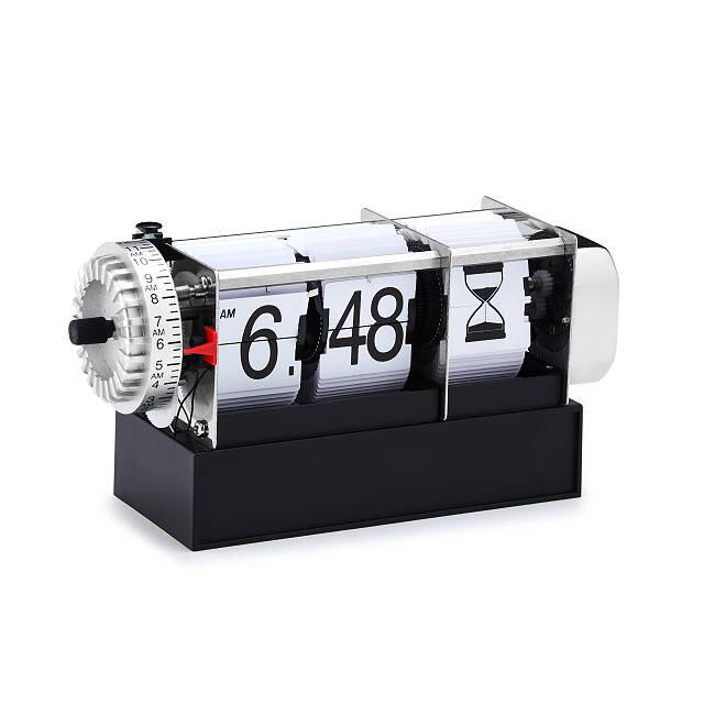mechanical hourglass flip clock