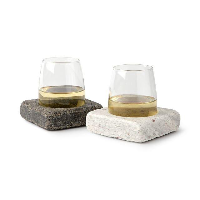 Granite Wine Chilling Coasters
