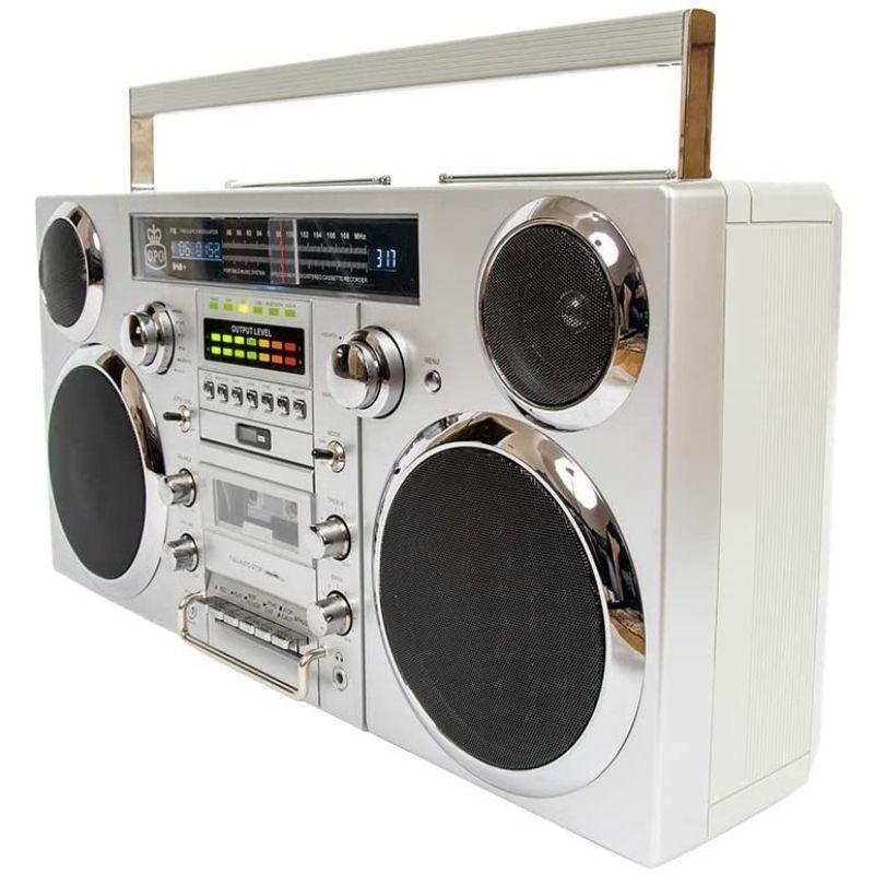 GPO Brooklyn 1980S-Style Digital Portable Boombox