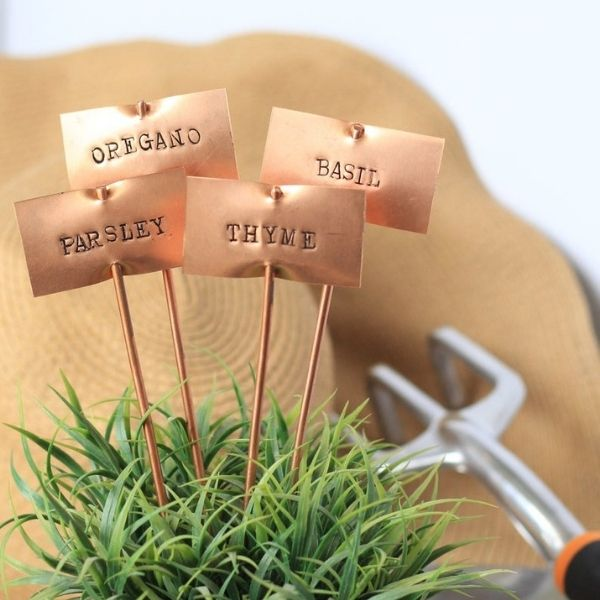 Custom & Hand Stamped Garden Stakes