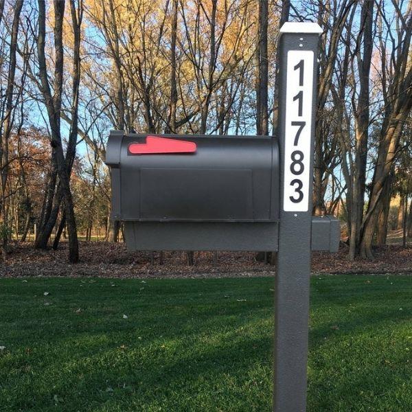 Solar LED Backlit Mailbox