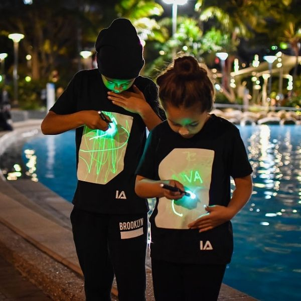 Light Up Drawing Tees