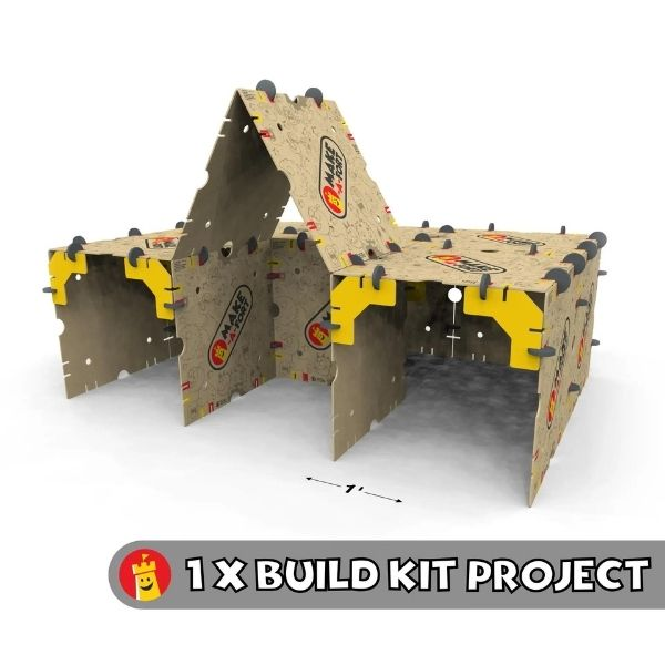 Make-A-Fort Fort Building Kits