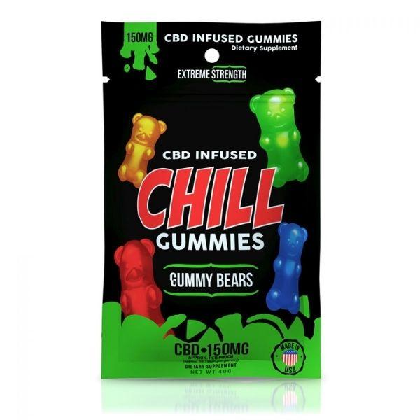 Chill CBD Relaxation Gummies (THC Free)